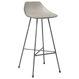 Industrial Bar Stools and Kitchen Stools by Lyon Beton