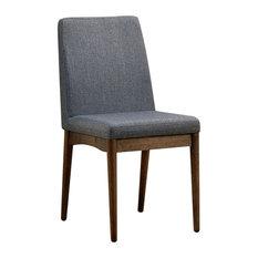 Eindride Mid-Century Modern Side Chairs, Set of 2