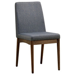 Midcentury Dining Chairs by Benzara, Woodland Imprts, The Urban Port