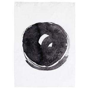 """Circle"" Print Tea Towel by Ylva Skarp, Set of 2"