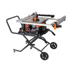 """10"""" Jobsite Table Saw with Rolling Stand"""