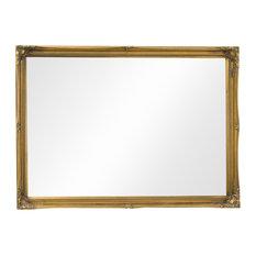 Fraser Beaded Dress Mirror, Gold, 70x100 cm