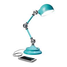 OttLite Wellness Series Revive LED Desk Lamp, Turquoise