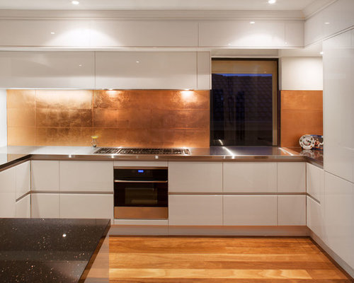 Copper Splashback Houzz