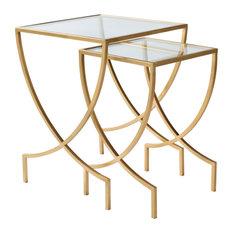 Zareen Contemporary Nesting Table Set