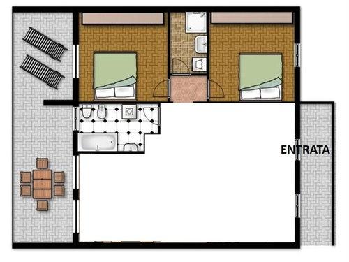 Open space cucina e living, e lo studio?