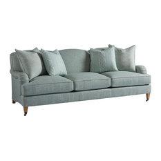 Sydney Sofa With Brass Casters