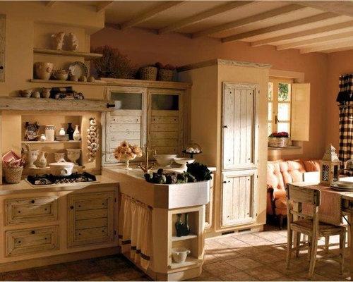 Cucine rustiche piastrellate o in muratura - Cucine in muratura rustiche ...