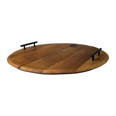 Cooperage Wine Barrel Platter