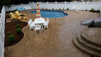 Pool Patio Design Install, Tree/Shrub Install, Irrigation Install, Lawn Install