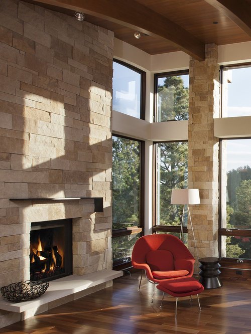 Pine brook hills mountain residence for Renaissance rumford fireplace