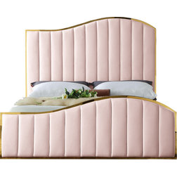 Contemporary Panel Beds by Meridian Furniture