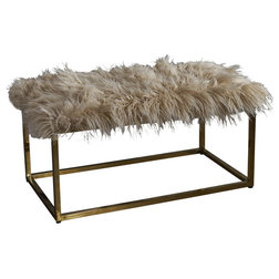 Contemporary Upholstered Benches by GDFStudio