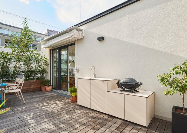 Modern Terrasse by gruenhoch3 - ideen für ein leben im freien