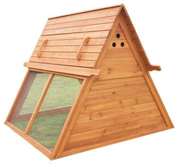 Portable Chicken Coop For 3 To 5 Hens   Birdhouses