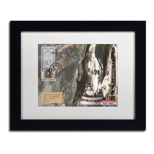 Nick Bantock Wicklow Matted Framed Art Contemporary Prints And Posters By Trademark Global