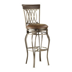 Hilale Furniture Montello Swivel 32 Inch Barstool Bar Stools And Counter