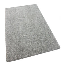 12'x16' Shaw, Om Ii Silver Hair Gray Carpet Area Rugs