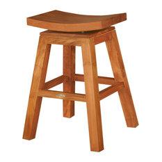 Marvelous Wood Teak Bar Stools Counter Stools Houzz Camellatalisay Diy Chair Ideas Camellatalisaycom