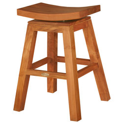 Transitional Bar Stools And Counter Stools by Chic Teak