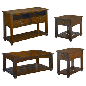 Incredible Winsome Timber 2 Piece Coffee And End Table Set In Black Caraccident5 Cool Chair Designs And Ideas Caraccident5Info