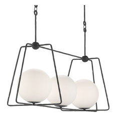 Currey and Company Stansell Rectangular Chandelier