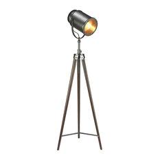 Industrial Floor Lamps Houzz