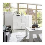 Dama (white) 2 door cupboard