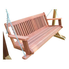 Cabbage Hill Porch Swing, Unstained, 5'