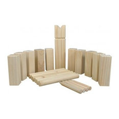 Selections Deluxe Wooden Kubb Viking Chess Garden Game