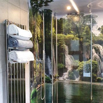 Waterfall Wet room
