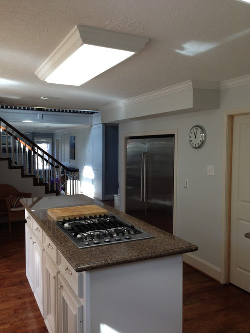 Kitchen lighting help needed - what can I replace the ...