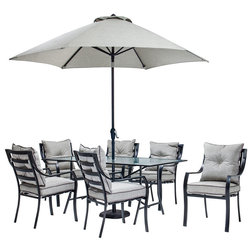 Amazing Transitional Outdoor Dining Sets by Almo Fulfillment Services