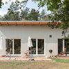 Simpel und nachhaltig: Ein Fertighaus aus Holz bei Cottbus