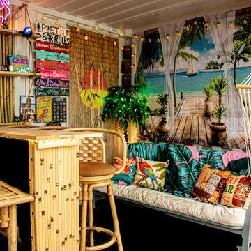 Tiki Container Bar