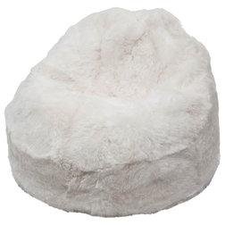 Scandinavian Bean Bags by IKIMO - Premium Icelandic Sheepskins