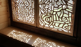Carved window coverings