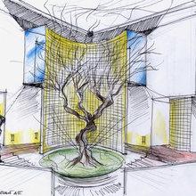 progetto architettura e interior design edificio privato