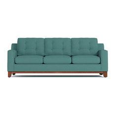 Apt2b Bwood Queen Size Sleeper Sofa Innerspring Mattress Seafoam Sofas