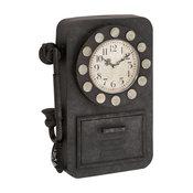 Harnett Metal Wall Clock