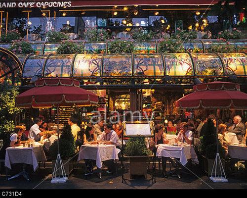 Le Grand Café Capucines, Brasserie Paris, FRANCE