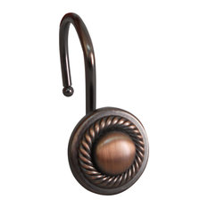 50 Most Popular Oil Rubbed Bronze Shower Curtain Hooks For 2018