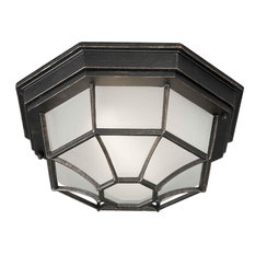 Forte Lighting 17005-01 1 Light Outdoor Wall Sconce - Bordeaux