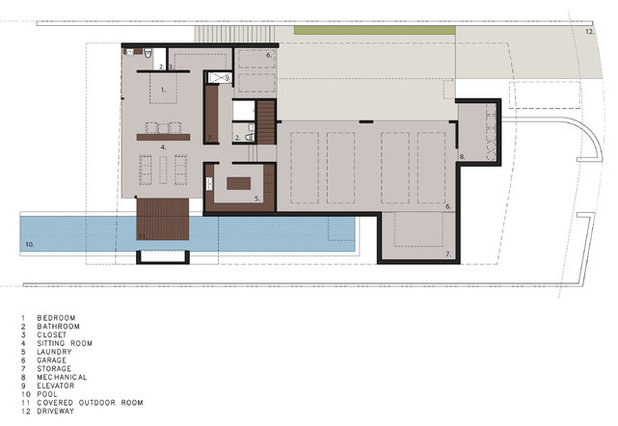 Floor Plan by Horst Architects