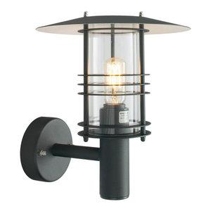Black Wall Lantern Grande - 1 x 100W E27