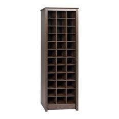 prepac furniture spacesaving shoe storage cabinet espresso shoe storage