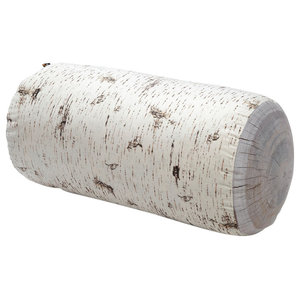 Large Log Floor Cushion, Birch