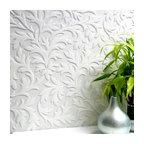 Anaglypta High Leaf Paintable Textured Vinyl Wallpaper, Bolt