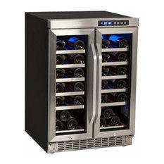 EdgeStar - 36-Bottle Built-In Wine Cooler - Beer and Wine Refrigerators