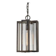 ELK Group International - Elk Bianca 1 Light Outdoor Pendant, Hazelnut Bronze 45147/1 - Outdoor Hanging Lights